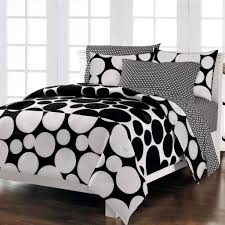 Black And White Crib Bedding Set Bedroom Mesmerizing Black And White Bedding Set With Stripe And