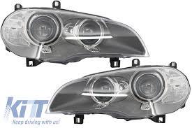 bmw x5 headlights bmw x5 e70 lci bi xenon headlights 2010 2013