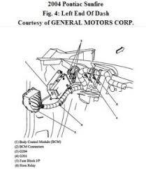 2004 pontiac sunfire horn relay location electrical problem 2004