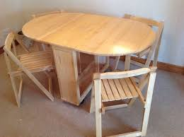 Folding Table With Chairs Inside Chic Folding Table With Chairs Stored Inside Folding Chairs Stored