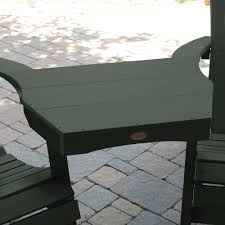 Tete A Tete Garden Furniture by Highwood Eco Friendly Marine Grade Synthetic Wood Adirondack Tete