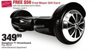 fred meyer black friday swagtron t1 hoverboard 50 fred meyer