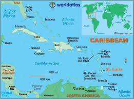 map of st st lucia map geography of st lucia map of st lucia