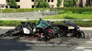 corvette car crash corvette crash july 22 2017