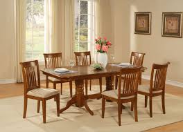 east west furniture 9 piece dining room table set table with a