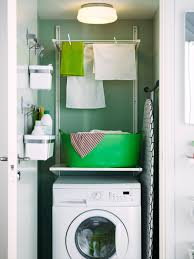 interior small laundry room solutions washing storage ideas