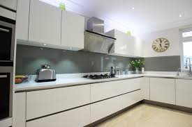 High Gloss Acrylic Kitchen Cabinets by Haddington White High Gloss Lacquer Kitchen White Worktop Wood