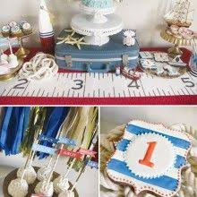 Nautical Party Theme - muuve nautical themed cake and cup cakes nautical party theme