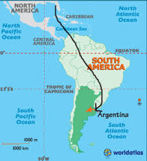 south america map equator south america map there back