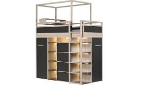 lit mezzanine ado avec bureau et rangement lit mezzanine ado avec bureau et rangement 4 lit ado combine