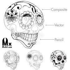109 best sugar skull tattoos images on pinterest sugar skull