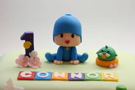pocoyo cake toppers beautiful kitchen pocoyo and friends cake for connor s 1st birthday