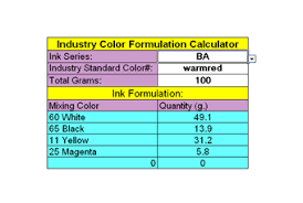 color cards u0026 mixing system inkcups now