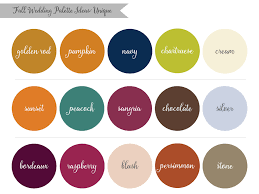 fall color pallette lauren rachel inspired by nature fall wedding palette ideas