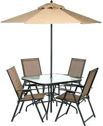 patio table with 4 chairs inspirational folding patio furniture or folding patio tables 6