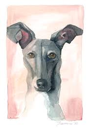 67 best dogs in art images on pinterest italian greyhound