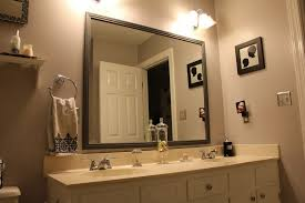 How To Frame A Bathroom Mirror Framed Bathroom Mirrors Designs And Ideas Home Interior And
