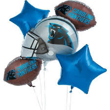 balloon delivery nc carolina panthers balloon bouquet balloonscharlotte