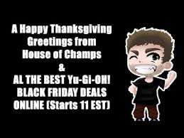 a happy thanksgiving the best black friday yu gi oh deals
