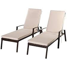 Chaise Lounge Outdoor Amazon Com Best Choice Products Outdoor Chaise Lounge Chair W