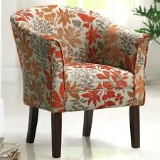 Floral Accent Chairs Living Room Floral Accent Chair Floral Print Accent Chairs The Attractive