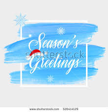 seasons greetings sign text stock vector 526414375