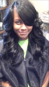 weave no leave out hairstyle brazillian outcome of full sew in no natural leave out youtube