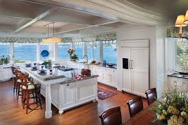 Traditional Kitchen Ideas Visual Treat 20 Captivating Kitchens With An Ocean View