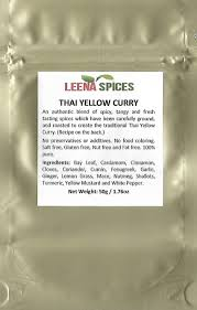 amazon com leena spices thai red seasoning curry powder