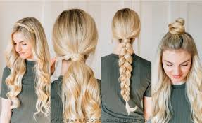 How To Braid Extensions Into Your Hair by 4 Ways To Use A Clip In Extension To Mix Up Your Hair U2013 Barefoot