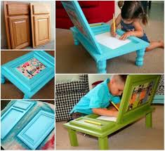 Diy Door Desk Wonderful Diy Cupboard Door Desk For