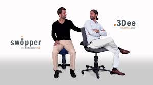 swopper en 3dee actieve bureaustoelen voor uw gezondheid youtube