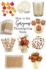 how to set a gorgeous thanksgiving table it is a keeper