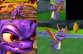 spyro takes a look at his future gaming