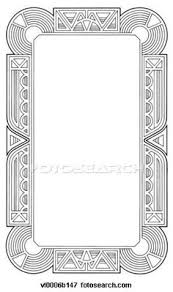 printable art deco borders pin by christine alane on zentangles pinterest art nouveau
