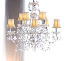 Shaded Crystal Chandelier Shaded Chandelier And Crystal U2013 Eimat Co