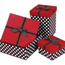 polka dot boxes top polka dot box with ribbons