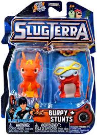 slugterra series 3 burpy stunts mini figure 2 pack jakks pacific