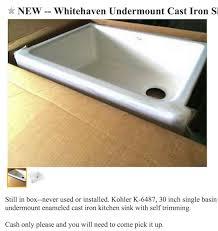 kohler cast iron farmhouse sink cast iron apron front farm sink kohler whitehaven victoria