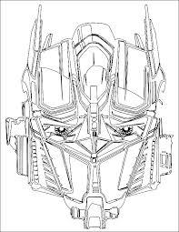 dessin ã imprimer transformers bumblebee