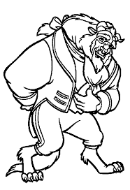 beauty beast printable coloring pages 701 jpg beauty