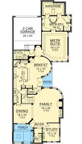 narrow lot 2 story house plans 2 story narrow lot european home plan 36395tx architectural