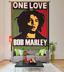 marley one love green and red hippie wall tapestry bob marley one love green and red hippie wall tapestry