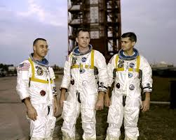 Why Is The American Flag Backwards On Uniforms Can You Solve This Apollo 1 Spacesuit Mystery Universe Today