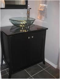 Bathroom Vanities No Sink by Bathroom White Round Sink Bathroom Black Wooden Vanity With