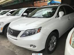 white lexus rx 450h lexus rx 450h 2010 white full option triple beam side camera new