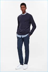 how to wear navy chinos with a light blue dress shirt men u0027s fashion
