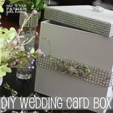 diy wedding card box 25 money saving ideas for your wedding from