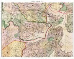 Map Boston Old Maps Of Boston