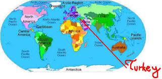 Hungary World Map Turkey On World Map Roundtripticket Me